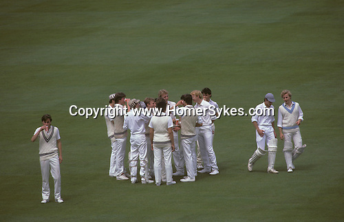 Eton Harrow school cricket match at Lords London.  The English Season published by Pavilon Books 1987