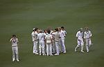 Eton Harrow school cricket match at Lords London.  The English Season published by Pavilon Books 1987
