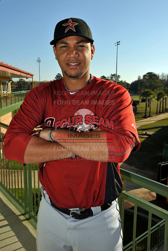Feb 25, 2010; Kissimmee, FL, USA; The Houston Astros pitcher Yorman Bazardo (58) during photoday at Osceola County Stadium. Mandatory Credit: Tomasso De Rosa/Four Seam Images