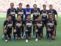 Club America Team in the Club America @ Real Salt Lake 0-1 RSL victory at Rio Tinto Stadium in Sandy, Utah on July 11, 2009