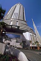 Vereinigte arabische Emirate (VAE, UAE), Dubai, Hotel The Adress und Hochhaus  Burj Dubai, das höchste Gebäude der Welt