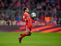 18.11.2017,  Football 1.Liga 2017/2018, 12. match day, FC Bayern Muenchen - FC Augsburg, in Allianz-Arena Muenchen. Juan Bernat (FC Bayern Muenchen) . *** Local Caption *** © pixathlon<br /> <br /> +++ NED + SUI out !!! +++<br /> Contact: +49-40-22 63 02 60 , info@pixathlon.de