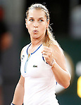 Dominika Cibulkova, Slovakia, during Madrid Open Tennis 2016 match.May, 6, 2016.(ALTERPHOTOS/Acero)