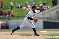 West Michigan Michigan Whitecaps pitcher Eudis Idrogo (26) delivers a pitch to the plate against the Fort Wayne TinCaps during the Midwest League baseball game on April 26, 2017 at Fifth Third Ballpark in Comstock Park, Michigan. West Michigan defeated Fort Wayne 8-2. (Andrew Woolley/Four Seam Images)