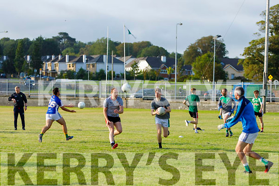 Na Gaeil GAA players warming up ready for action as the club activities open up.