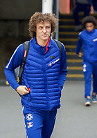 David LUIZ of Chelsea arrives during the Premier League match between Crystal Palace and Chelsea at Selhurst Park, London, England on 30 December 2018. Photo by Andrew Aleks.