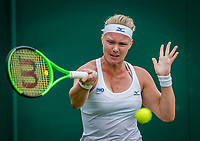 London, England, 4 th July, 2017, Tennis,  Wimbledon, Kiki Bertens (NED)<br /> Photo: Henk Koster/tennisimages.com