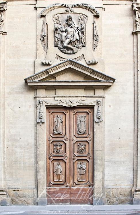 Europe, Italy, Tuscany, Florence, Doorway
