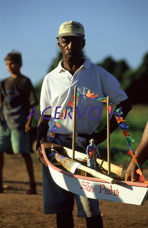 festa de São Pedro na comunidade de Surpresa, distrito de Guajará Mirim - Rondônia