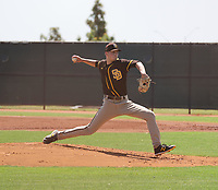 Justin Lange - San Diego Padres  2021 extended spring training (Bill Mitchell)