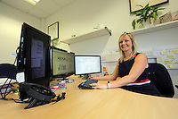 Pictured: Laura Burkinshaw Wednesday 10 August 2016<br /> Re: dexrexlegal in the SA1 area of Swansea, Wales, UK.
