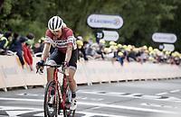 Toms Skujiņš (LVA/Trek - Segafredo)<br /> <br /> Stage 1 from Brest to Landerneau (198km)<br /> 108th Tour de France 2021 (2.UWT)<br /> <br /> ©kramon