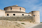 Genoese citadel, built 1440, Saint Florent, Haute Corse, Corsica, France, Mediterranean Coast, Coastal towns in Corsica,