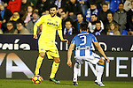 CD Leganes' Unai Bustinza (r) and Villarreal CF's Roberto Soriano during La Liga match. December 3,2016. (ALTERPHOTOS/Acero)