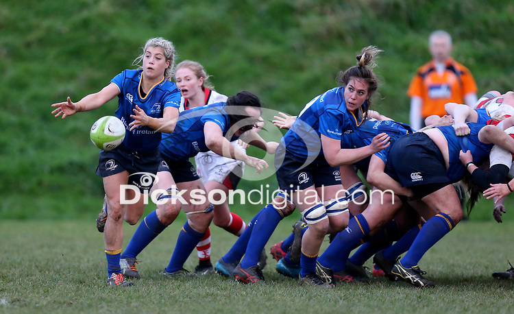 Sunday 3rd December 2017; Ulster Women vs Leinster Women<br /> <br /> Ailsa Hughes during the Women's Inter-Pro between Ulster and Leinster at Dromore RFC, Barbon Hill, Dromore, County Down, Northern Ireland. Photo by John Dickson / DICKSONDIGITAL