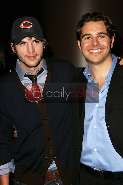 """Ashton Kutcher and Charlie Ebersol<br />at the Los Angeles Premiere of """"Ithuteng"""". Director's Guild of America, Los Angeles, CA. 11-15-06<br />Dave Edwards/DailyCeleb.com 818-249-4998"""