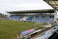 General view of the ground during Colchester United vs Mansfield Town, Sky Bet EFL League 2 Football at the JobServe Community Stadium on 14th February 2021