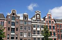 Nederland - Amsterdam- 2020 . Grachtenpanden. Foto Berlinda van Dam / ANP /  HH