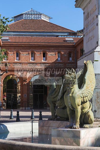 France, Haute-Garonne (31), Toulouse, Place Dupuy et la Halle aux Grains //  France, Haute Garonne, Toulouse,  Dupuy square and Halle aux Grains
