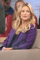 Kate Hudson. <br /> Kate Hudson in the TV latte show Goog morning America.