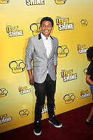 "LOS ANGELES - JUN 5:  Trevor Jackson arriving at the Premiere Of Disney Channel's .""Let It Shine"" at DGA Theater on June 5, 2012 in Los Angeles, CA"
