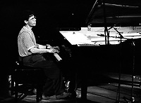 CHICK COREA . PIANISTE AMERICAIN . JAZZ . SWINGIN DEAUVILLE . JUILLET 1992 .