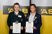 Girls Diving finalists Emily Webster & Jamie Rodriguez. ASB College Sport Young Sportperson of the Year Awards 2008 held at Eden Park, Auckland, on Thursday November 13th, 2008.