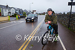 Diarmaid Griffin who is welcoming the new cycle lanes purposed for Killarney town