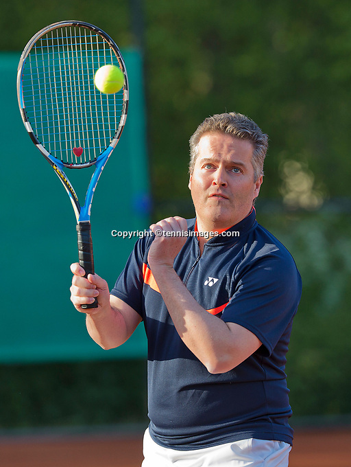 The Netherlands, May 1, 2015, Vianen, Marco Verhoef<br /> Photo: Tennisimages/Henk Koster