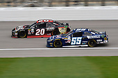 NASCAR XFINITY Series<br /> Kansas Lottery 300<br /> Kansas Speedway, Kansas City, KS USA<br /> Saturday 21 October 2017<br /> Erik Jones, Reser's American Classic Toyota Camry, Josh Berry, March Network Toyota Camry<br /> World Copyright: John K Harrelson<br /> LAT Images