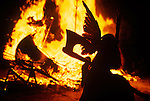 Up Helly Aa Lerwick Shetland Islands Scotland <br /> <br /> The festival now takes place on the last Tuesday in January annually.