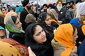 Thousands of local residents join a procession through Southall, West London, to celebrate the Sikh festival of Vaisakhi.