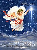 Dona Gelsinger, CHRISTMAS CHILDREN, WEIHNACHTEN KINDER, NAVIDAD NIÑOS, paintings+++++,USGE1925,#xk#,Angel,angels