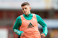 22nd August 2020; Tannadice Park, Dundee, Scotland; Scottish Premiership Football, Dundee United versus Celtic; Ryan Christie of Celtic during the warm up before the match