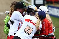 29th August 2021; Commezzadura, Trentino, Italy; 2021 Mountain Bike Cycling World Championships, Val di Sole; Downhill;  Downhill final Women, Myriam Nicole (FRA)