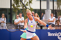 Amstelveen, Netherlands, 1 August 2020, NTC, National Tennis Center, National Tennis Championships,  Womans Final : Richel Hogenkamp (NED) <br /> Photo: Henk Koster/tennisimages.com