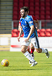St Johnstone FC Season 2018-19…  McDiarmid Park    <br />Drey Wright<br />Picture by Graeme Hart. <br />Copyright Perthshire Picture Agency<br />Tel: 01738 623350  Mobile: 07990 594431