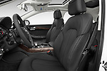 Front seat view of 2015 Audi A8 4.0T NWB quattro Tiptronic 5 Door Sedan front seat car photos