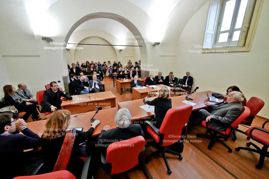 - Aversa 5 FEB   2014 -   Tribunale di Aversa assemblea  Associazione Nazionale Magistrati. Nela foto