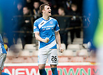 Motherwell v St Johnstone…18.03.17     SPFL    Fir Park<br />Liam Craig celebrates his goal<br />Picture by Graeme Hart.<br />Copyright Perthshire Picture Agency<br />Tel: 01738 623350  Mobile: 07990 594431