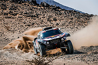 6th January 2021; Wadi Al Dawasir to Riyadh, Saudia Arabia; Dakar 2021 Rally, stage 4;  302 Peterhansel Stéphane (fra), Boulanger Edouard (fra), Mini, X-Raid Mini JCQ Team, Auto, action during the 4th stage of the Dakar 2021 between Wadi Al Dawasir and Riyadh, in Saudi Arabia on January 6, 2021