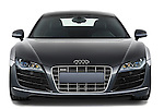 Straight front view of a 2009 - 2012 Audi R8 V10 FSI Coupe.