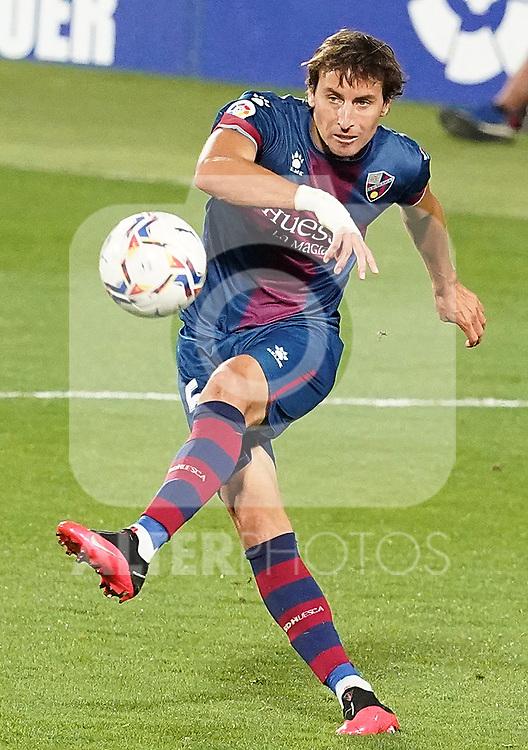 SD Huesca's Pedro Mosquera during La Liga match. September 30,2020. (ALTERPHOTOS/Acero)