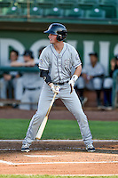 Tyler Bugner (11) of the Grand Junction Rockies at bat against the Ogden Raptors in Pioneer League action at Lindquist Field on August 24, 2016 in Ogden, Utah. The Raptors defeated the Rockies 11-10. (Stephen Smith/Four Seam Images)