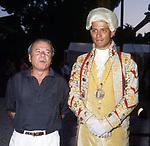 ACHILLE BONITO OLIVA<br /> MOSTRA MARIO CEROLI<br /> TERME DI CARACALLA ROMA 1991