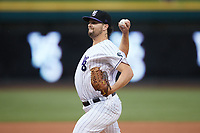 Winston-Salem Dash starting pitcher Kevin Folman (29) in action against the Greensboro Grasshoppers at Truist Stadium on August 11, 2021 in Winston-Salem, North Carolina. (Brian Westerholt/Four Seam Images)