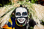 This series of portraits gives an insight into the fascinating life of an Ethiopian tribe who decorate their faces and wear plants on their heads.  The tribesmen and women can be seen posing for the camera with their heads adorned with different vegetation, berries and flowers which they have found in the wild.<br /> <br /> The Suri tribe, which lives near the south Sudan border in Ethiopia, decorate their bodies like this for special occasions.  Its people are known to inflict long-lasting scars on their bodies, which are considered beautiful in the tribe, and its women put large clay plates in their lower lip to be considered desirable.  SEE OUR COPY FOR DETAILS.<br /> <br /> Please byline: Vedran Vidak/Solent News<br /> <br /> © Vedran Vidak/Solent News & Photo Agency<br /> UK +44 (0) 2380 458800