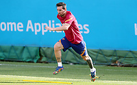8th September 2020, Barcelona, Spain;  Lionel Messi attends a training session with Barcelona in Barcelona, Spain. Barcelona s Argentinian forward Lionel Messi returned to training with team on Monday, about two weeks after he told the club he intends to leave this summer.