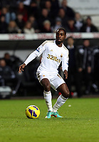 Tuesday 01 January 2013<br /> Pictured: Nathan Dyer.<br /> Re: Barclays Premier League, Swansea City FC v Aston Villa at the Liberty Stadium, south Wales.