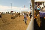 Bull riding, Deschutes County Fair and Rodeo, Central Oregon